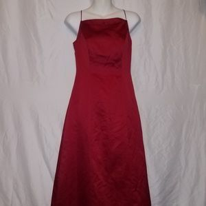 Ladie's Red Michaelangelo Dress/Gown Size 2